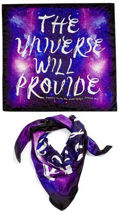 The Universe WIll Provide Scarf