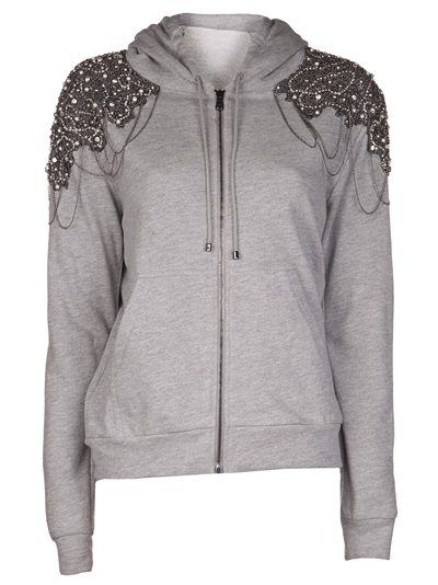 Pick Of The Day: Haute Hippie Embellished Zip Hoodie