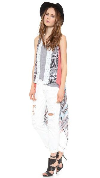Pick Of The Day: Diane von Furstenberg Long Serape Wrap