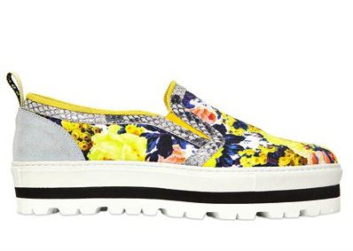 Currently Coveting: MSGM Slip-On Sneakers