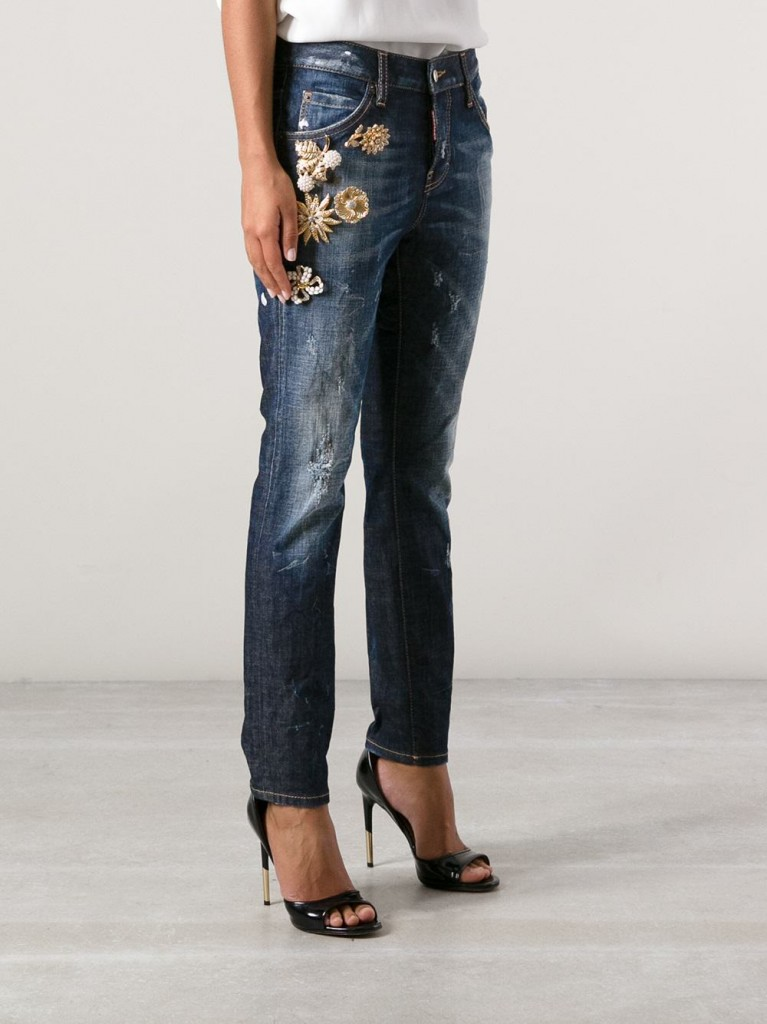 Currently Coveting: DSquared2 Embellished Jeans