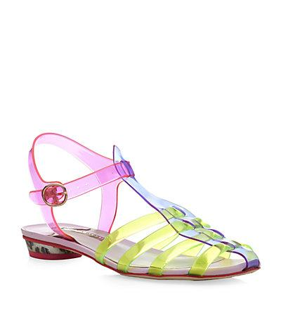 Trend To Try: Jelly Footwear