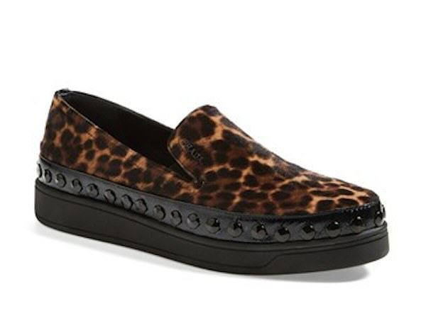Prada Camo Slip On Sneaker