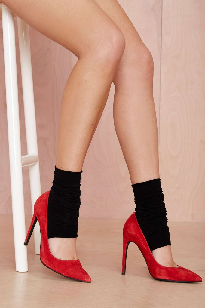 Currently Coveting: Toeless Socks