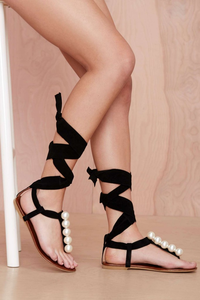 Pick Of The Day: Jeffrey Campbell Taj Pearl Suede Sandal