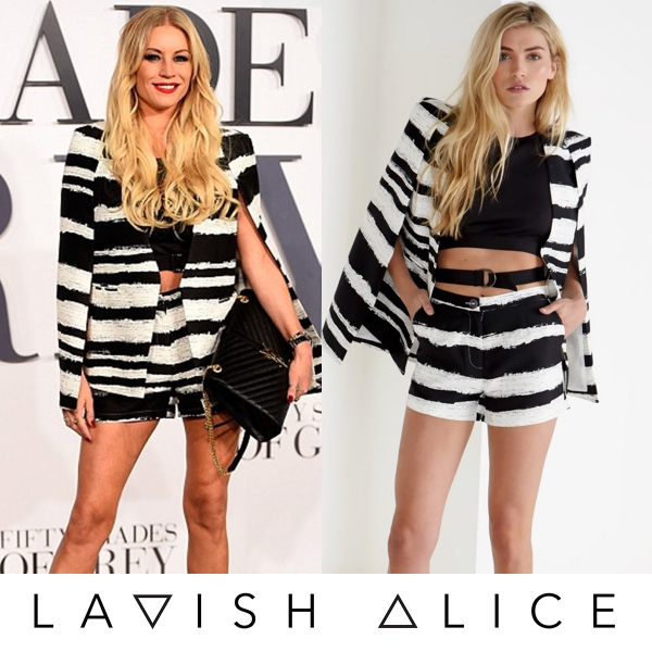 Denise Van Outen Spotted In Lavish Alice