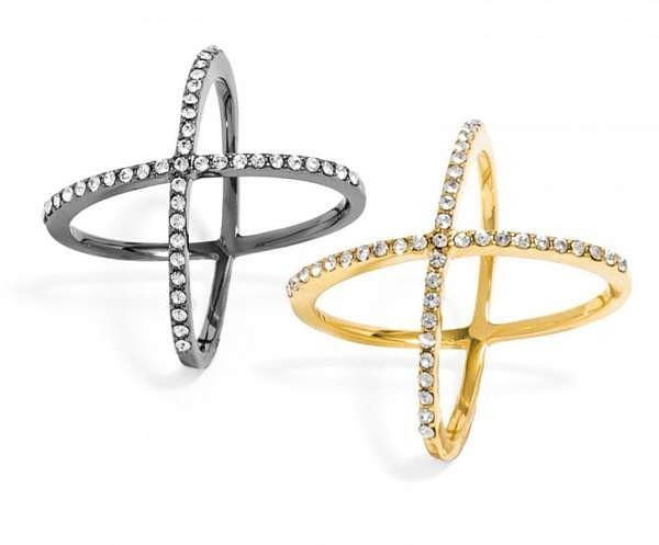 Currently Coveting: Crystal Mason Ring Set By Baublebar