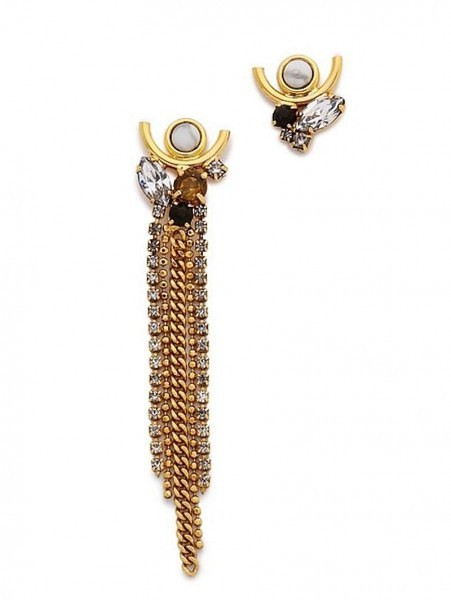 Currently Coveting: Lizzie Fortunato Te Amo Earrings