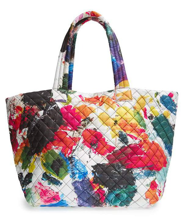 Currently Coveting: MZ Wallace Large Metro Palette Quilted Oxford Nylon Tote