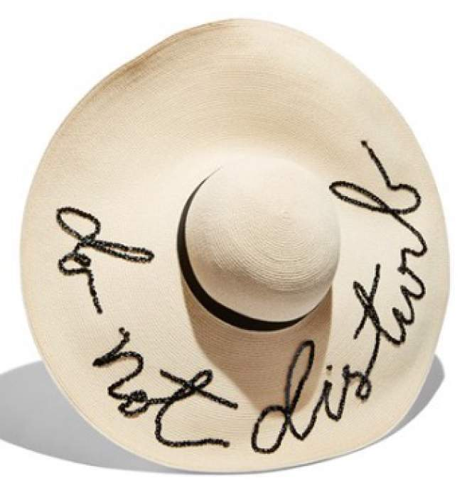 Currently Coveting: Eugenia Kim Do Not Disturb Sun Hat