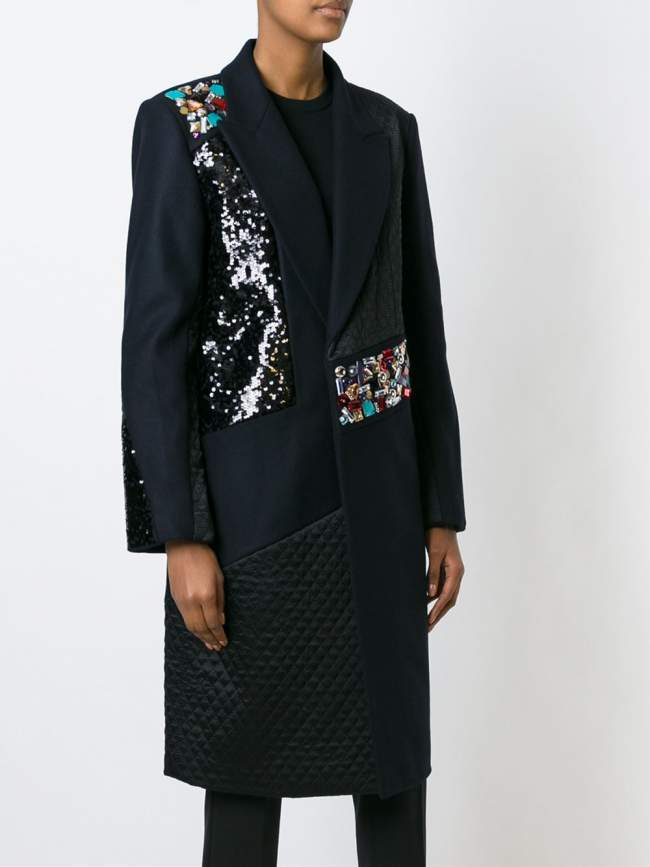 Currently Coveting: DKNY Embellished Coats