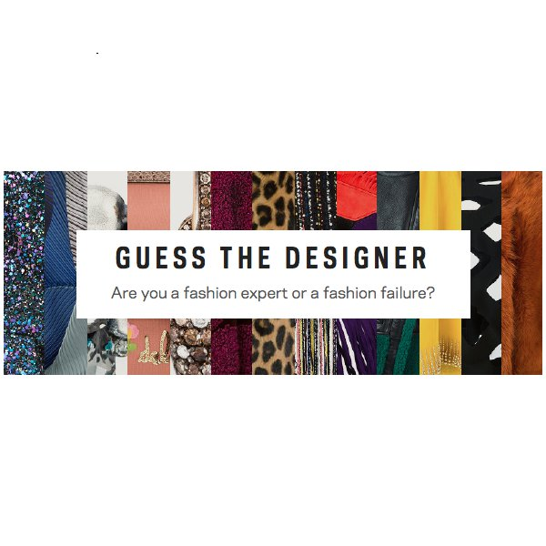 Play Farfetch's Guess The Designer