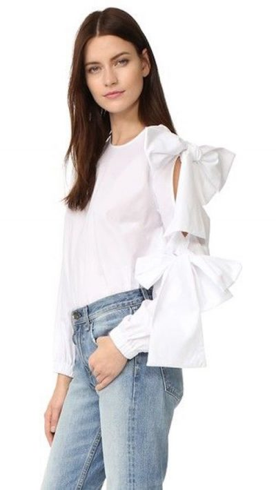 11 Fresh Takes On The White Blouse
