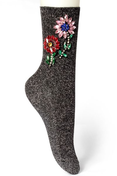 Currently Coveting: Embellished Socks