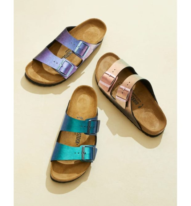 Currently Coveting: Birkenstock Arizona Graceful Birko-Flor Sandals