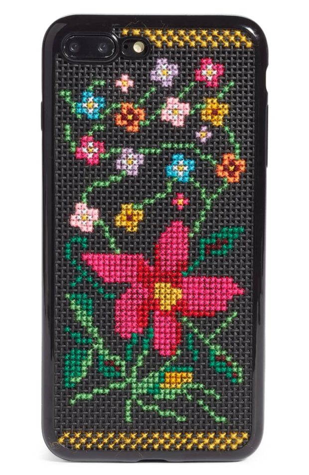 check out bcf8f dc155 Current Obsession: Maria Maria Cross-Stitch iPhone Cases – FASHIONKRUSH